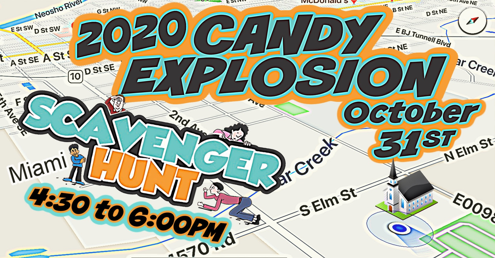 Candy Explosion Scavenger Hunt Oct