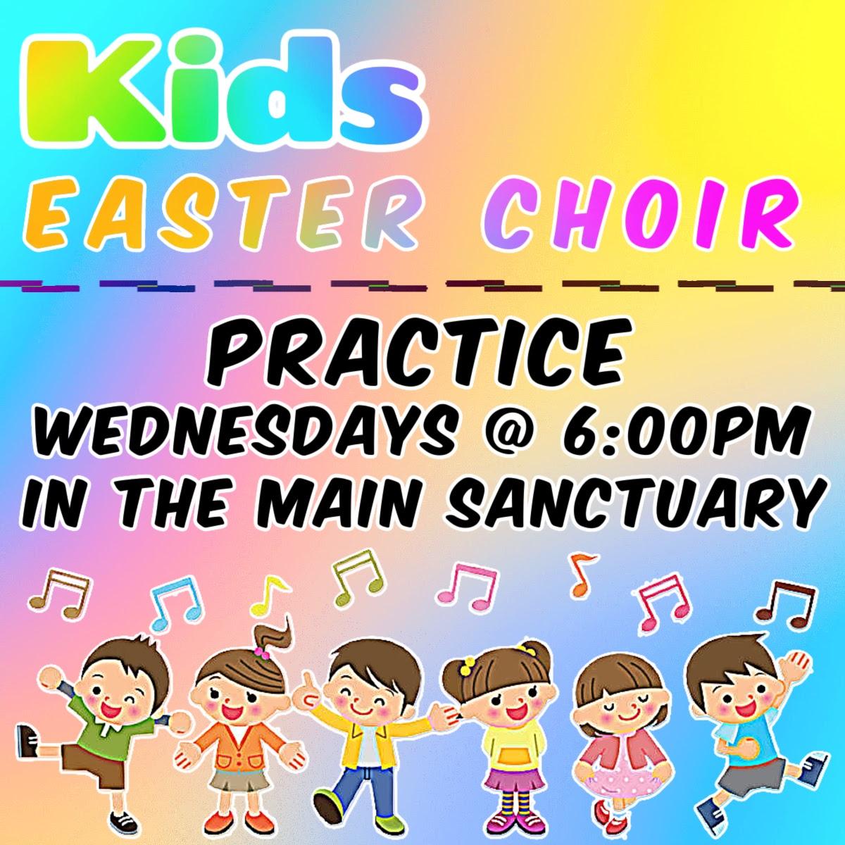 Kids Easter Choir
