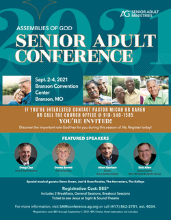 Senior Adults Conference