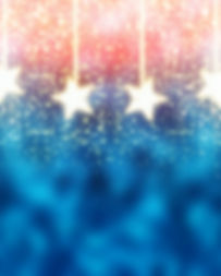 Blue and Red Abstract Christmas Backgrou