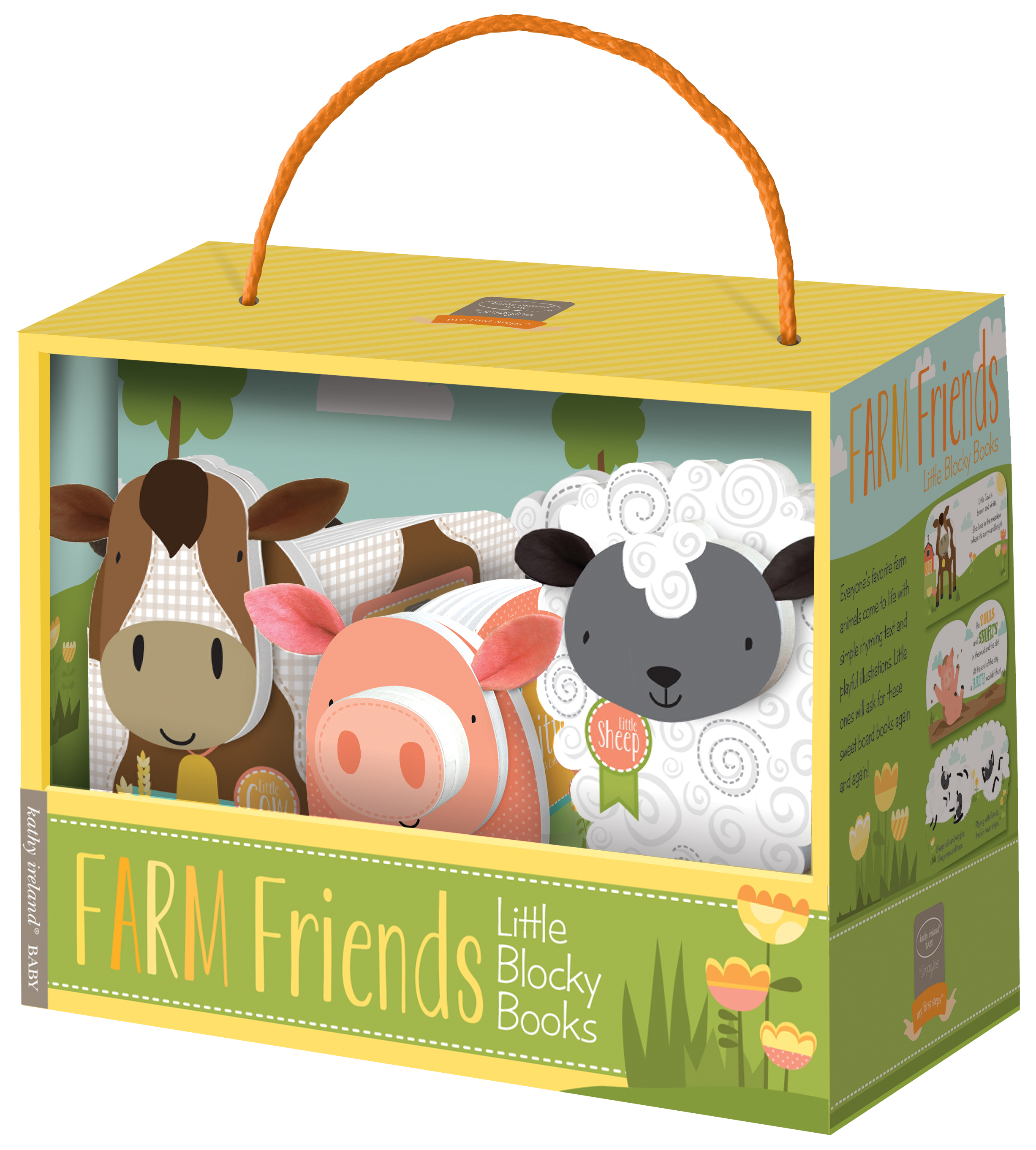 Farm Friends Block Book Set