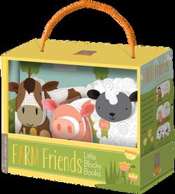 Farm Friends Block Book Set
