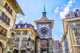 Astronomical clock on the medieval Zytgl