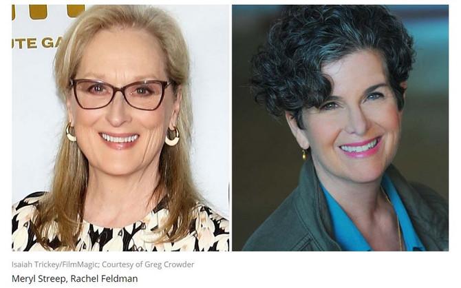Streep has lent her support to Feldman's film about Lilly Ledbetter and her fight for legislativ