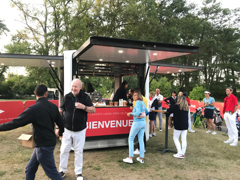 Lacoste Ladies Open de France 2019 | Le Cubox stand d'accueil