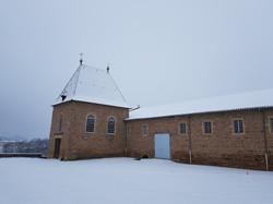 Château de Juliénas sous la neige