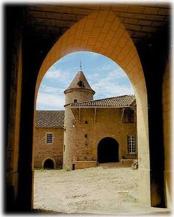 Porche entrée du Château