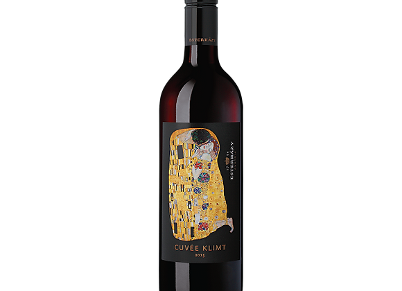 """The Kiss"" Gustav Klimt Red Blend"