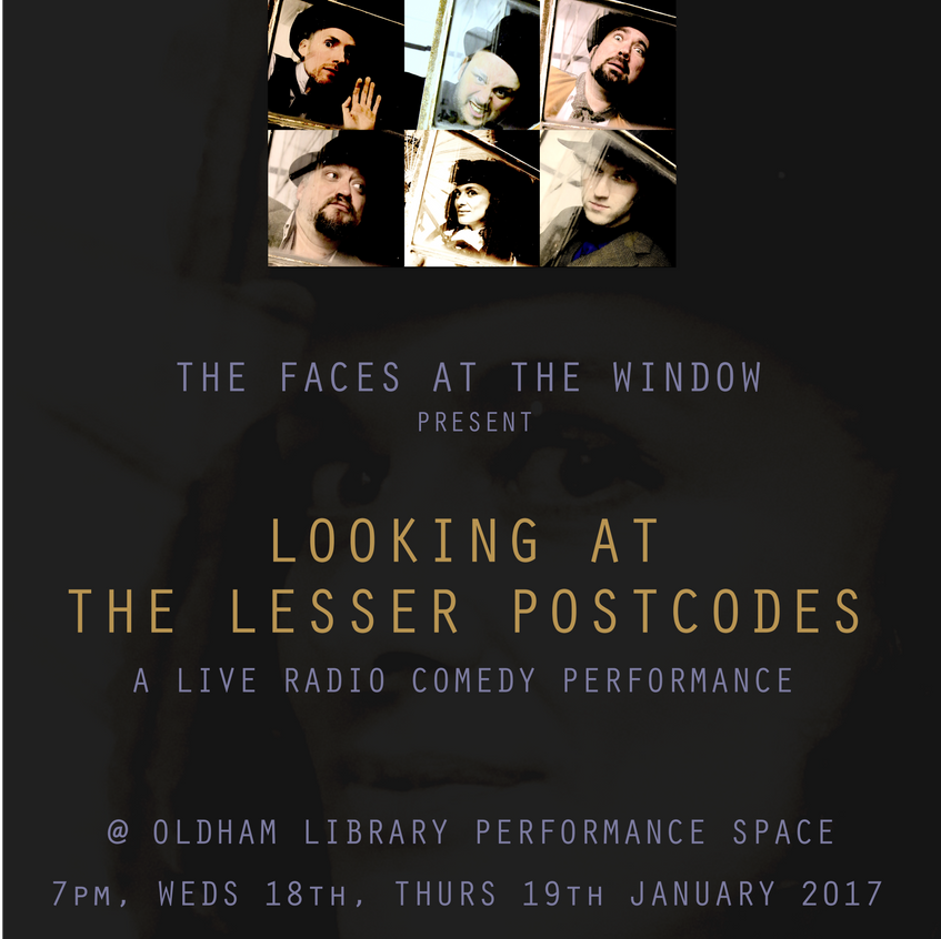 Faces at the Window Poster - Vic