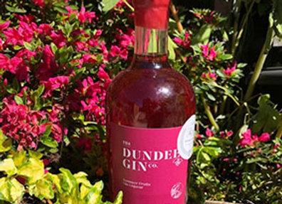 Summer fruits liqueur in the garden