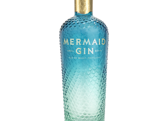 Mermaid Gin (Blue) from Isle of wight distillery
