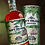 Front view of the bottle and presentation box for Navy Island Jamaican Rum