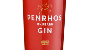 Tasting Penrhos Rhubarb Gin with crafty stevie