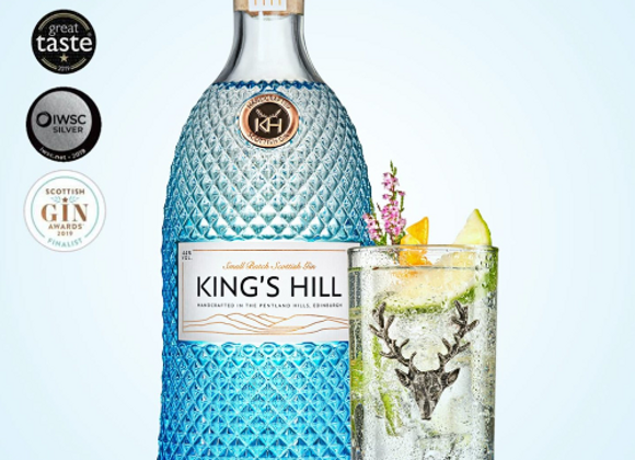 Kings Hill Gin with awards won