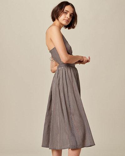 vestido SOSPIR, navy rose
