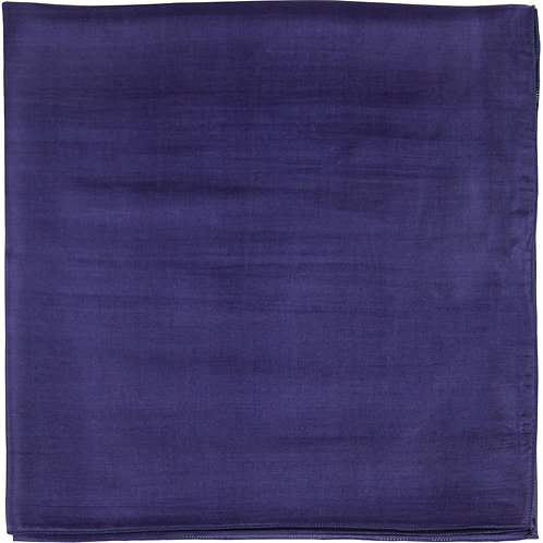 Écharpe em mousseline de seda, marine