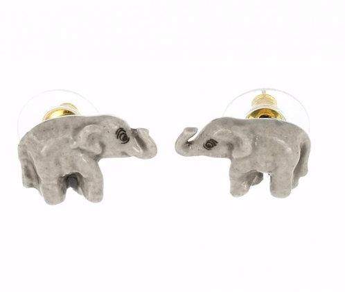 Brincos mini elefantes