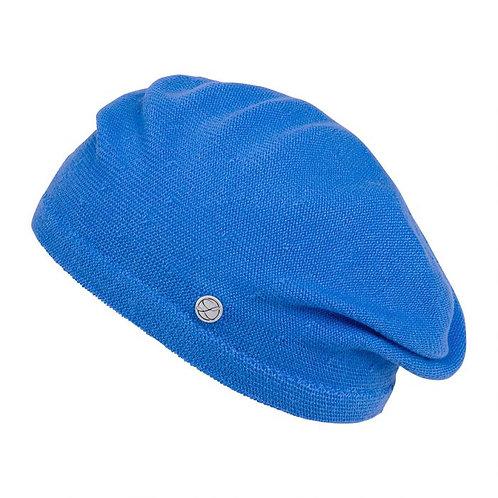 Boina BELZA algodão, azul klein