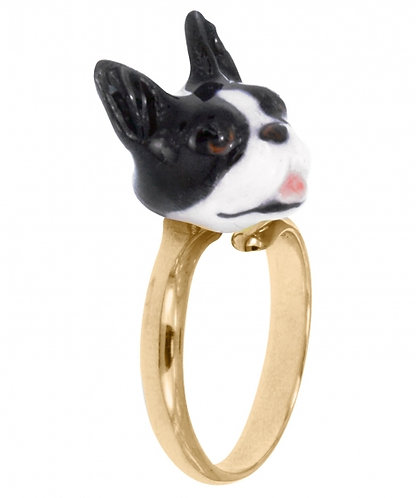 Anel Bulldog Francês