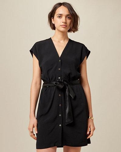 vestido ESPERANZA, preto
