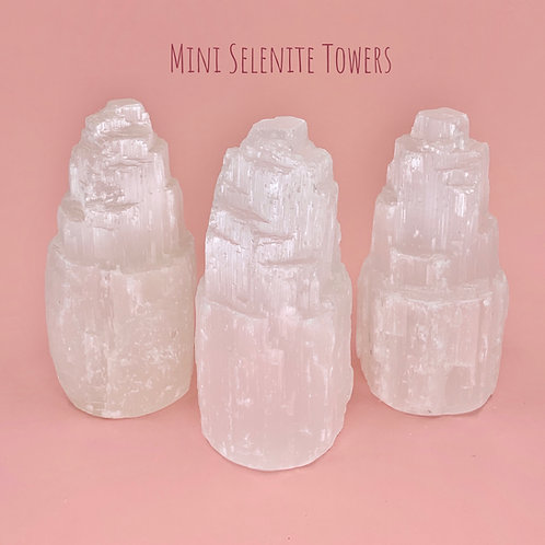 Mini Selenite Towers