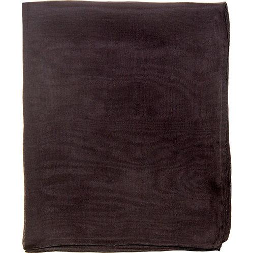 Écharpe em mousseline de seda, noir