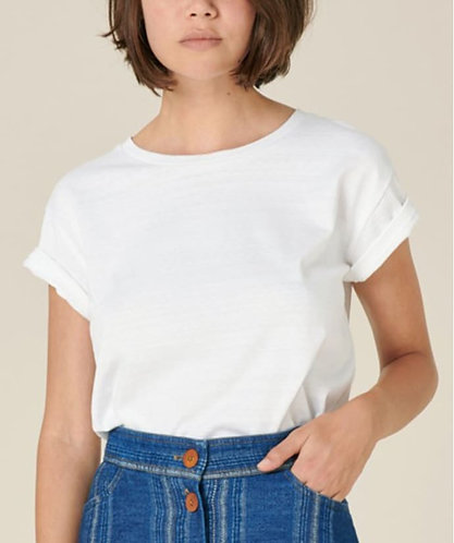 t-shirt, ALBANO, optical white