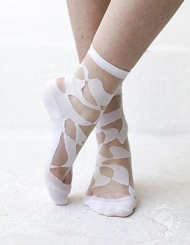 meias THAMES branco