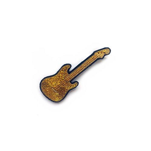 Guitarra dourada