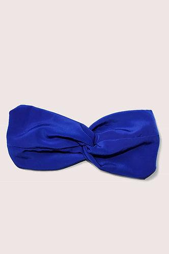 Turbante Bleu Eléctrique