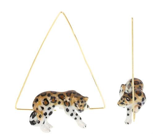 Brincos Leopardo