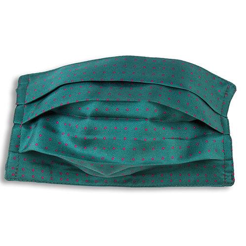 Máscara de seda, pois vert, Maison Malfroy
