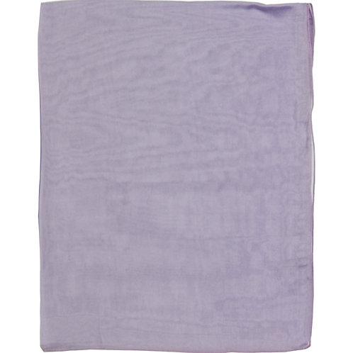 Écharpe em mousseline de seda, améthyste