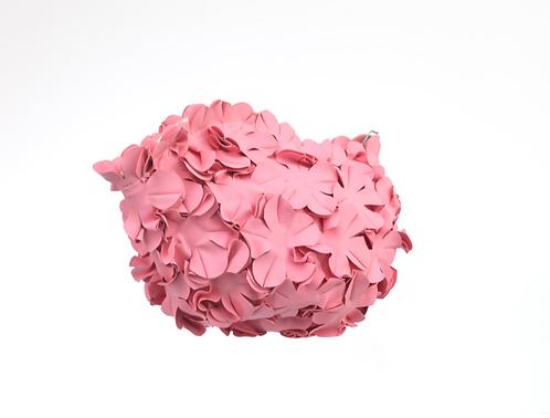 Swim Bag Flowers One Color Pink