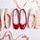 Thumbnail: Ballerine Cendrillon Flamme Verniz, Repetto V086V 550