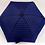 Thumbnail: Guarda-chuva, riscas azul-preto