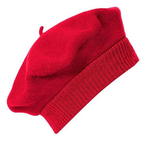 Boina Parisienne, vermelho