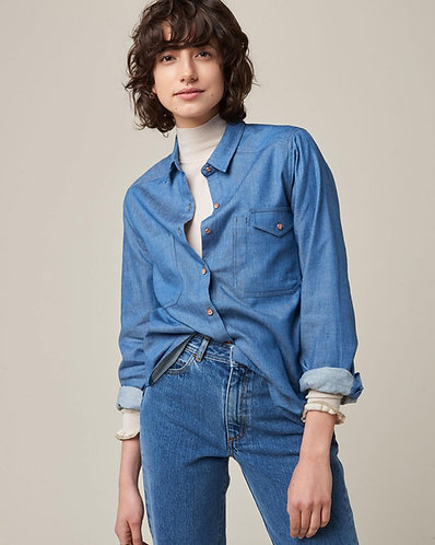 camisa, ASTONIA, Ashley blue