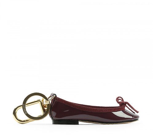 Porta-chaves Cendrillon bordeaux, Repetto