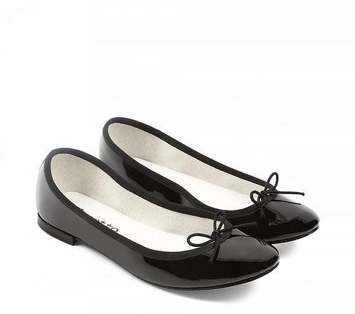 Ballerine Cendrillon Noir Verniz, Repetto V086V 410