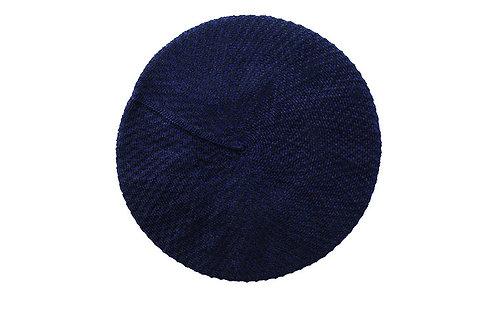 Boina COTON azul-preto