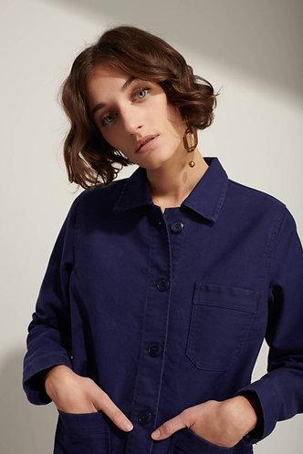 Véritable Veste de Travail, Bleu (feminino)