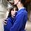 Thumbnail: Casaco de Trabalho, masculino, azul vívido