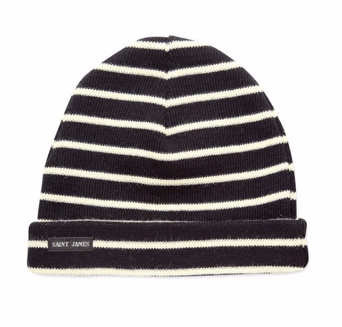 Gorro de riscas Saint James