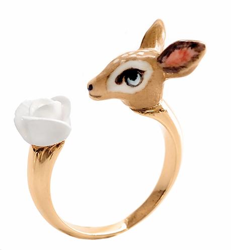Anel Bambi e Rosa