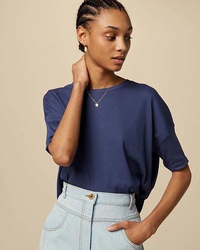 t-shirt, ACHILL, blue