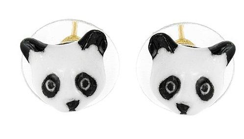Brincos mini panda