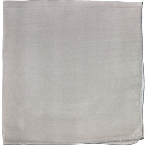 Écharpe em mousseline de seda, gris