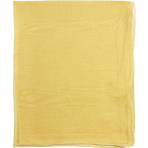 Écharpe em mousseline de seda, miel