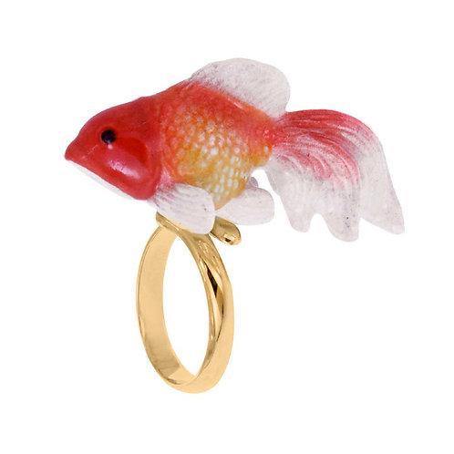 Anel Peixe Oranda
